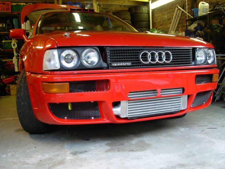 "PEmbo's ""Red Arrow"" Audi quattro"