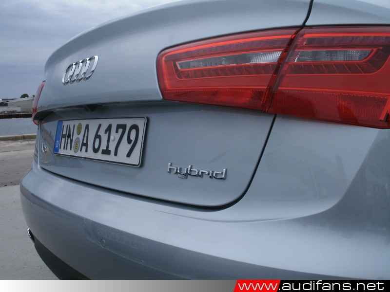 A6 Hybrid Rear Shot with Badge