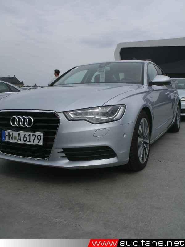 Front view of the A6 Hybrid